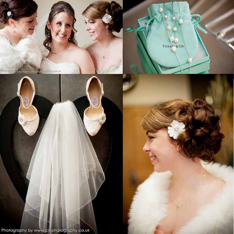 wedding accessories for the bride and bridesmaids